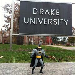 Photo taken at Drake University by Greg S. on 10/24/2012