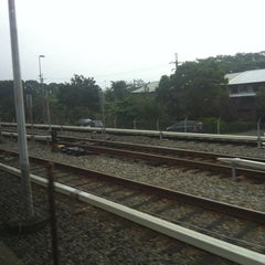 Photo taken at 捷運忠義站 MRT Zhongyi Station by Petra L. on 1/22/2013