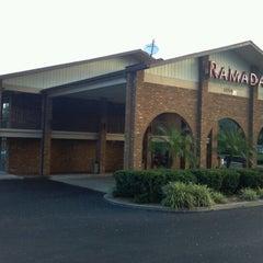 Photo taken at Ramada Inn Tampa by Bobby B. on 10/20/2012