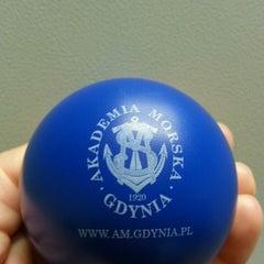 Photo taken at Akademia Morska w Gdyni by Asia K. on 9/10/2014