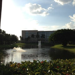 Photo taken at NSU: Alvin Sherman Library by Peter B. on 2/24/2013