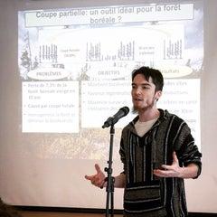 Photo taken at UQAM | Université du Québec à Montréal by UQAM on 4/15/2015