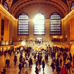 Photo taken at Grand Central Terminal by CBRE on 11/5/2013