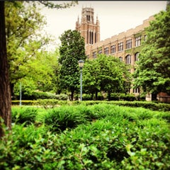 Photo taken at Marquette Hall by Father M. on 5/21/2013