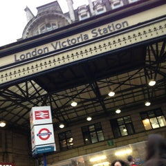 Photo taken at London Victoria Railway Station (VIC) by Rhammel A. on 3/7/2013