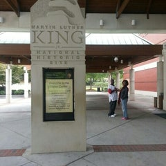 Photo taken at Dr Martin Luther King Jr National Historic Site by Tori on 10/3/2012