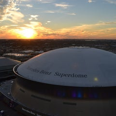 Photo taken at Mercedes-Benz Superdome by ESPN on 2/1/2013