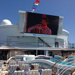 Photo taken at Sapphire Princess by James I. on 4/6/2013