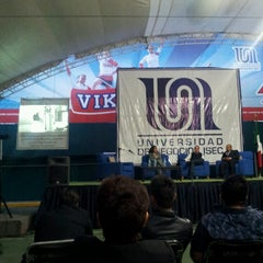 Photo taken at Universidad de Negocios ISEC by Mauricio V. on 5/17/2013
