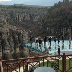 Photo taken at Kristal Teras Cafe by Mehmet Ihsan D. on 3/24/2013