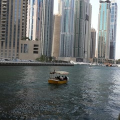 Photo taken at Dubai Marina Walk ممشى مرسى دبي by 🌸♡Umi 👯 K. on 6/14/2013