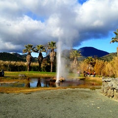 Photo taken at Old Faithful Geyser of California by Lindsay H. on 12/24/2012
