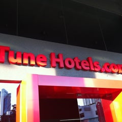 Photo taken at Tune Hotels by Coco X. on 10/3/2012