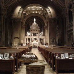 Photo taken at Basilica of Saint Mary by Kyle S. on 11/3/2012