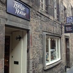 Photo taken at The Fudge House of Edinburgh by Martin R. on 9/29/2012