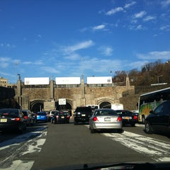 Photo taken at Lincoln Tunnel by Sarah S. on 11/21/2012