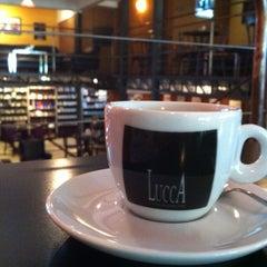 Photo taken at Lucca Café by Bares e Restaurantes de Curitiba on 1/10/2013