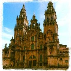 Photo taken at Catedral de Santiago de Compostela by jose r. on 10/25/2012