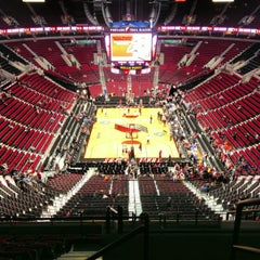 Photo taken at Moda Center at The Rose Quarter by Kelly Jo H. on 4/6/2013