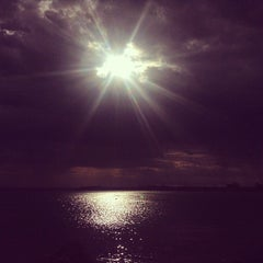Photo taken at Yarra Bay by Joshua D. on 1/18/2013