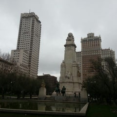 Photo taken at Plaza de España by Carlos G. on 1/27/2013