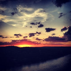 Photo taken at Covert Park at Mt. Bonnell by Daniela V. on 7/10/2013
