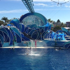 Photo taken at Dolphin Stadium by Leana N. on 1/20/2013