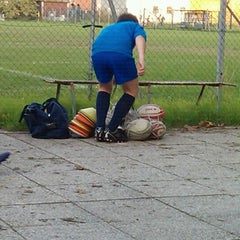 Photo taken at Campo allenamento Persiceto Rugby e Knights by Michele S. on 10/22/2012