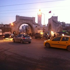 Photo taken at Bab al Khadhra | باب الخضراء by Rabii K. on 12/30/2012