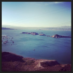 Photo taken at Lake Mead Overlook by Monique G. on 6/22/2013