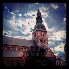 Photo taken at Rīgas Doms | Riga Cathedral by Dmitry K. on 5/16/2013