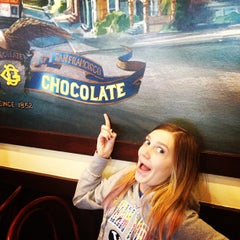 Photo taken at Ghirardelli Soda Fountain & Chocolate Shop by Heather C. on 12/28/2012