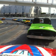 Photo taken at Tomorrowland® Speedway by Matt S. on 11/5/2012