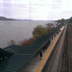 Photo taken at Metro North - Greystone Train Station by Antonia O. on 11/5/2012