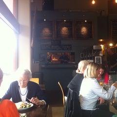 Photo taken at Cafe Strada by Trevor L. on 11/27/2014