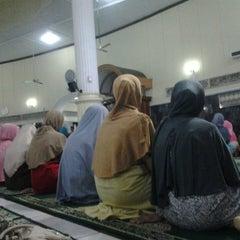 Photo taken at Masjid Agung Baitussalam by Vera R. on 7/13/2013