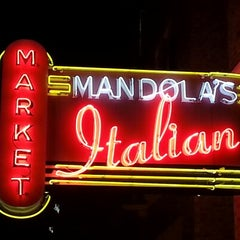 Photo taken at Mandola's Italian Market by Danny A. on 1/13/2013
