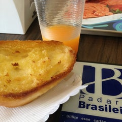Photo taken at Padaria Brasileira by Roberta B. on 3/9/2013