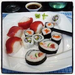 Photo taken at Wok Sushi by Silvia P. on 5/18/2013