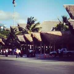 Photo taken at Punta Cana International Airport (PUJ) by Lindz L. on 1/27/2013