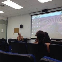 Photo taken at Facultad de Letras y Comunicación by Anna Karina A. on 6/27/2014