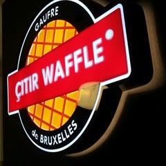 Photo taken at Çıtır Waffle - Edem by Fikret Ş. on 10/12/2013