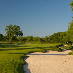 Photo taken at Wolfdancer Golf Club by Hyatt Regency Lost Pines Resort & Spa on 2/5/2015
