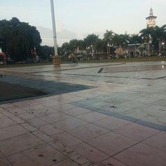 Photo taken at Alun Alun Kota Blitar by Kharisma A. on 7/30/2014