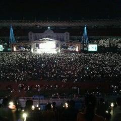 Photo taken at Parkir Timur Senayan by PrisQilla P. on 12/8/2012