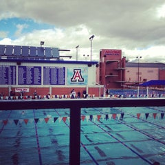 Photo taken at Hillenbrand Aquatic Center by Justin L. on 2/9/2013