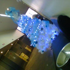 Photo taken at Telefónica del Perú (Torre Azul) by Patricia V. on 12/13/2012