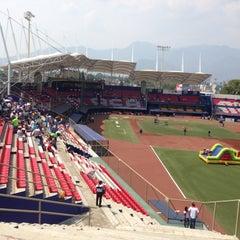 Photo taken at Estadio de Beisbol Eduardo Vasconcelos by ecantugarza on 5/12/2013