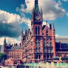 Photo taken at London St Pancras International Railway Station (STP) by Frankois on 8/22/2013