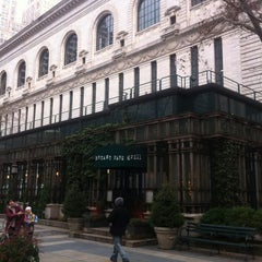 Photo taken at Bryant Park Grill by William A. on 1/12/2013